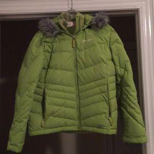 Spyder down jacket